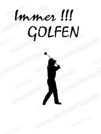 immer golfen